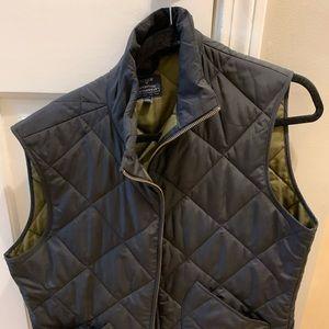 J Crew medium men's black vest